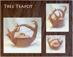 Tree Teapot no. 1 by rebootmaster2001