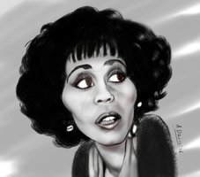 Whitney Houston by adavis57