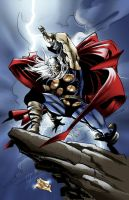 The Mighty Thor by kirisute