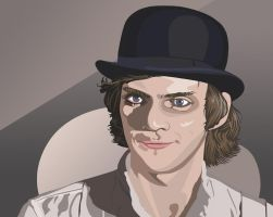 Alex-Clockwork Orange by Leen-galeas