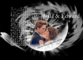 Bella and Edward by new-cullen