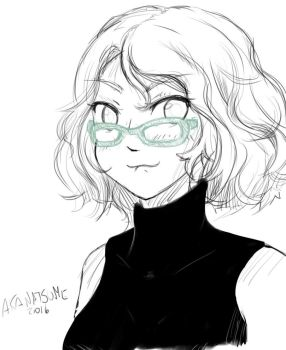 Arthia with lens should be canon by NatsumeAka