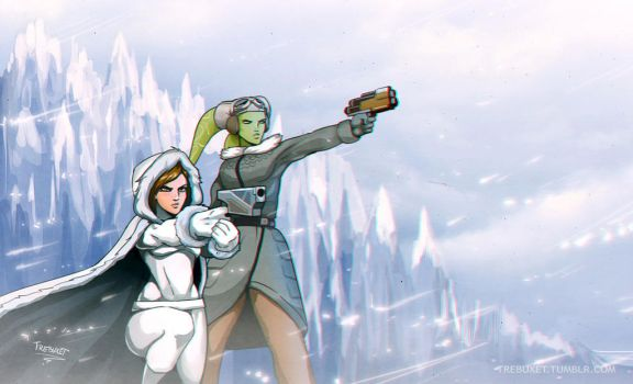 Hera and Sabine by Trebuxet