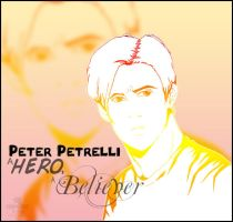 Peter Petrelli - a Hero by InvisibleRainArt
