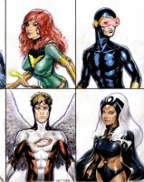 Marvel Comics heroes Part 2 by Reverie-drawingly