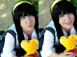 Funny Face with Kero-chan by Lexine90