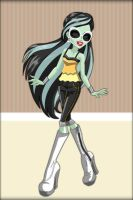Monster High ~ Scarah Screams by MiniatureBlueOwl