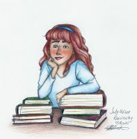 Rose Weasley Loves Books by charmontez