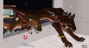iScribble Collab #13 by Silvadruid