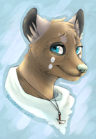 A shy smile - comission by BlueberryChill