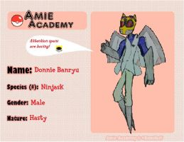 AmieAcademy- Donnie~ by DescaKlang