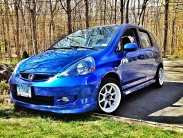 2007 Honda Fit Sport by Marissa1997