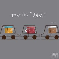 Traffic Jam by kusodesign