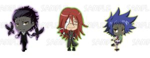 DGM_ Tyki Cross Road Keychain by Letucse