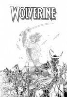Wolverine cover by vincent-fourneuf