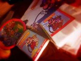 Mario party items from 1988 by MarioFan4