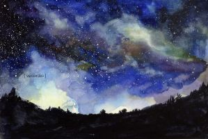 Ode to the starry night by Vecordio