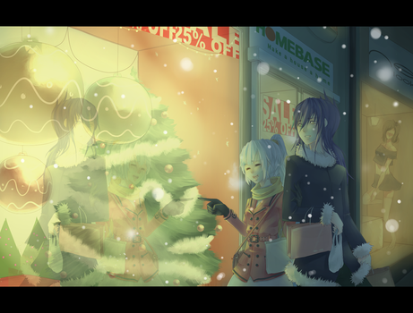 Contest entry: Winter Shopping by chiisai-mini