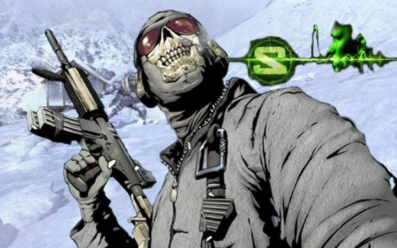 Ghost of Call of Duty by fire1love