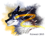 Hiems headshot by Flemaly