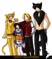 FMA - Happy Halloween 2010 by windrider01