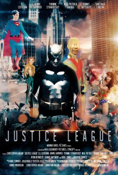 Justice League Movie Poster by SteSmith