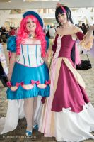 Pinkie and Princess Twilight by XenPhotos