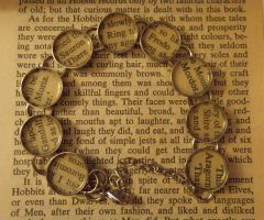 Lord of the Rings, Fellowship of the Ring Bracelet by GamerKirei