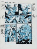 IDW TMNT One Page Eleven by Kevineastman