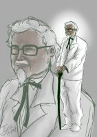 colonel sanders by 5aXoR