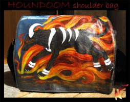 Houndoom bag by Phoeline
