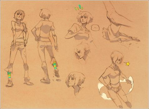 kuri_sketches by Kurunya