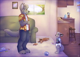 What did you get into? by High-Yote
