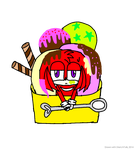 Ice cream Knux by Chellen-Lovepool