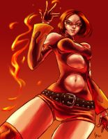 wyldfyre flame on by hugohugo