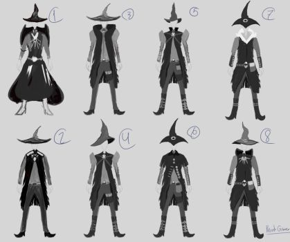 WitchBoy-concept by ProudGainer