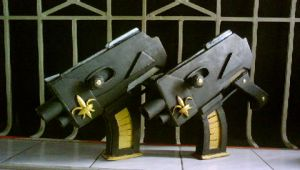 Warhammer 40k: DoW - twin guns by maddaluther