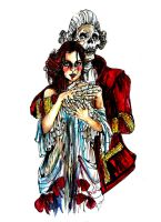 Beauty and the Beast by victoriaupson
