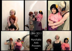 axis powers nyotalia by MathildasDoubel