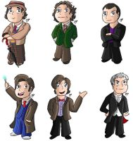 Doctor Who Stickers 2 by KarToon12