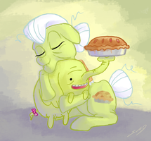 Granny Smith and Treetrunks by SeWoRig