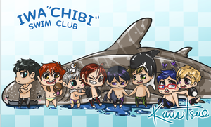 Iwa'chibi' swim club by Kauritsuo