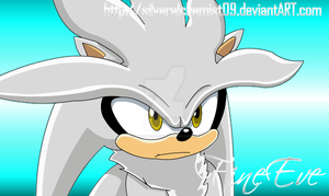 Silver Hedgehog by me by SilverAlchemist09