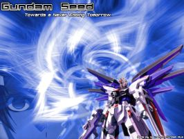 Gundam SEED wallpaper by KiLLRoY-5