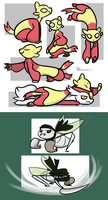 PKMN - Ferrets and Ninja Bugs by Thalateya