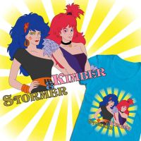 Kimber and Stormer tee shirt design by DearStormer