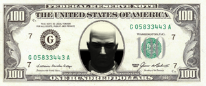 agent47 100 dollar by DrCropes