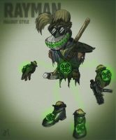 Rayman meets Fallout by AaHaa