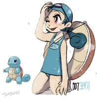 007.Squirtle by tamtamdi