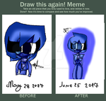 Blue Zircon [ Before And After] by catycarolite223